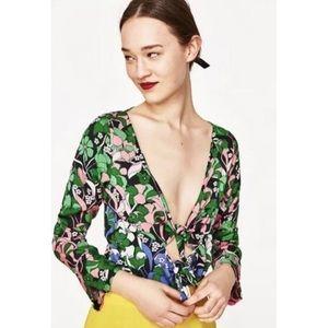 Zara Floral Bodysuit